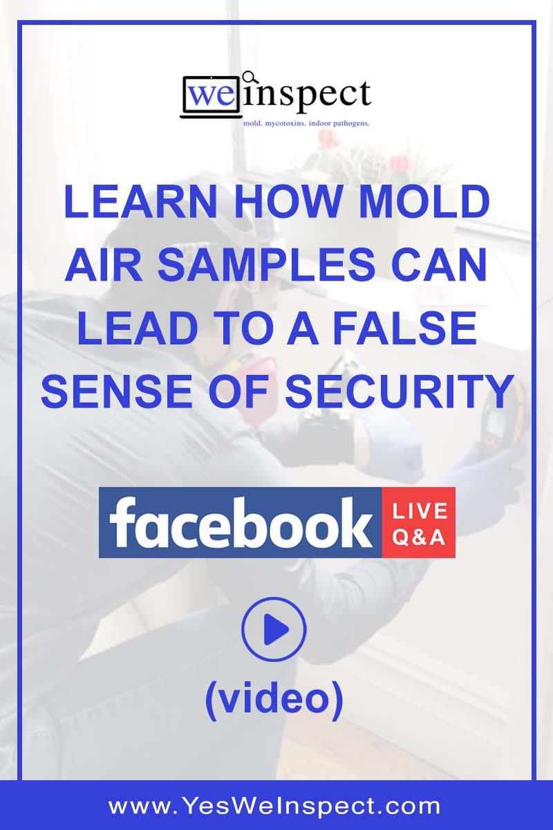 Live Q&A - How Mold Air Samples Lie - We Inspect